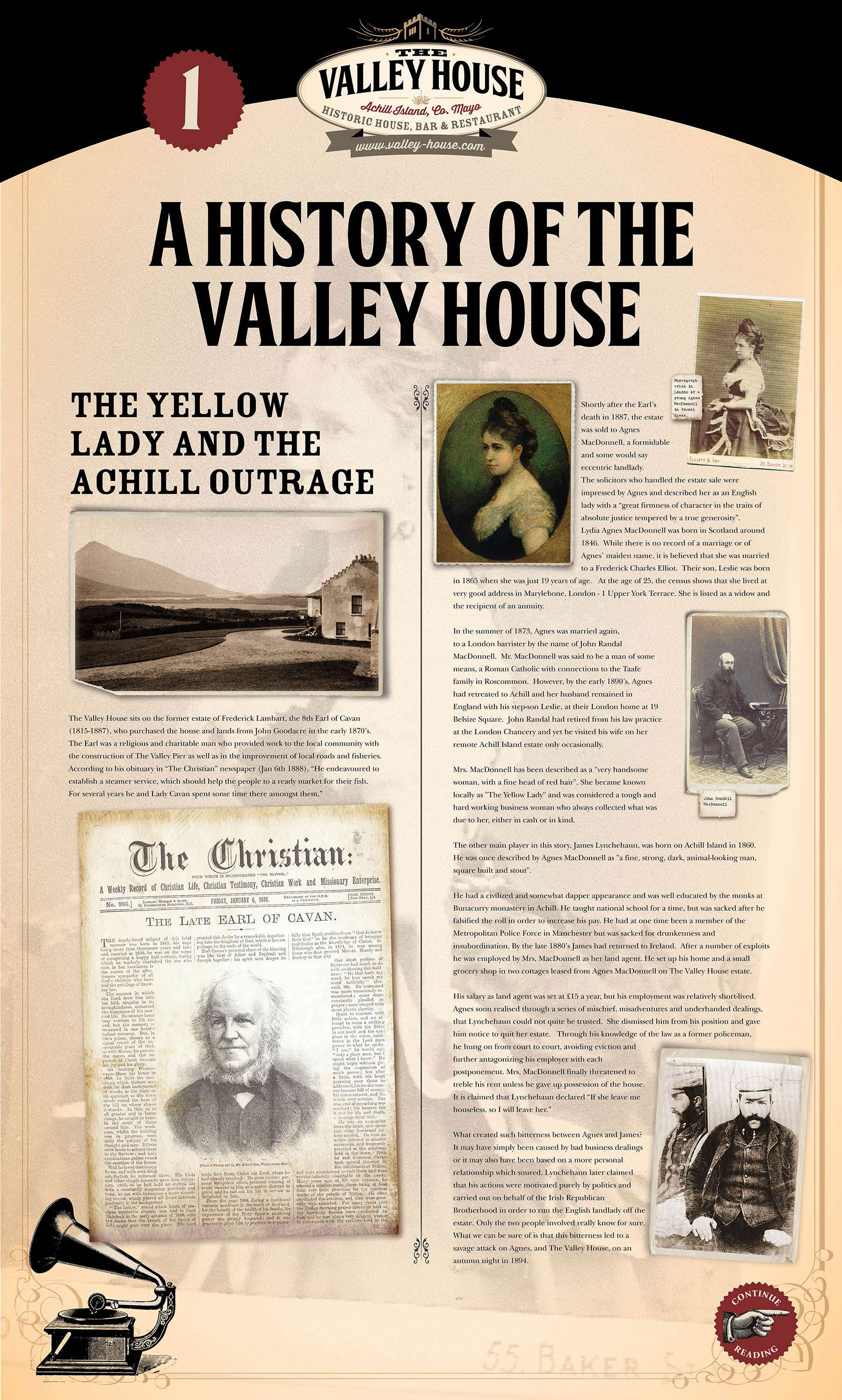 Valley House History